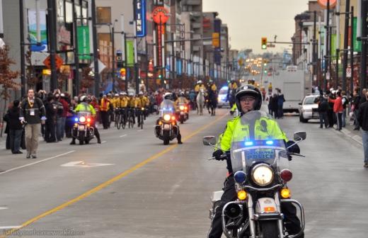 Vancouver 2010 - Torch Motorcade